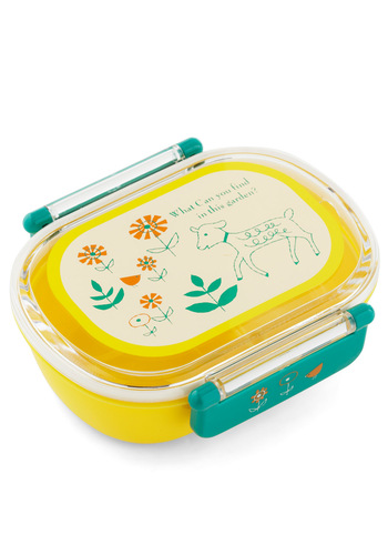 Ewe Hungry Bento Box by Shinzi Katoh - Yellow, Green