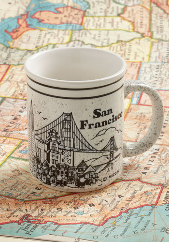 Vintage Forget About the Fog Mug