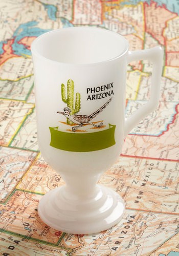 Vintage Back on the Roadrunner Mug