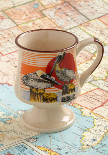 Vintage Peli-can You Visit? Mug