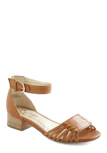 Star Gazer Heel by Seychelles - Solid, Casual, Summer, Wedge, Brown