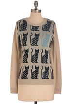 Blues Cat Sweater