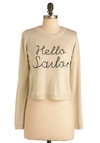 Good Tie-ming Sweater in Tan - Short, Cream, Black, Nautical, Long Sleeve, International Designer