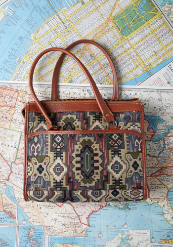 Vintage Off the Map Bag