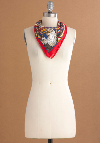 Vintage Up to Park Scarf