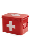 Head Over Healing First Aid Box by Present Time - Red, Vintage Inspired, Urban, Best Seller, Best Seller, Minimal, Travel, Good, Top Rated