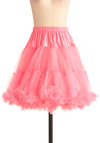 Va Va Voluminous Short Petticoat in Pink - Pink, Solid, Rockabilly, Vintage Inspired, 50s, Mid-length