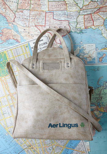 Vintage Prepare to Ire-land Cabin Bag