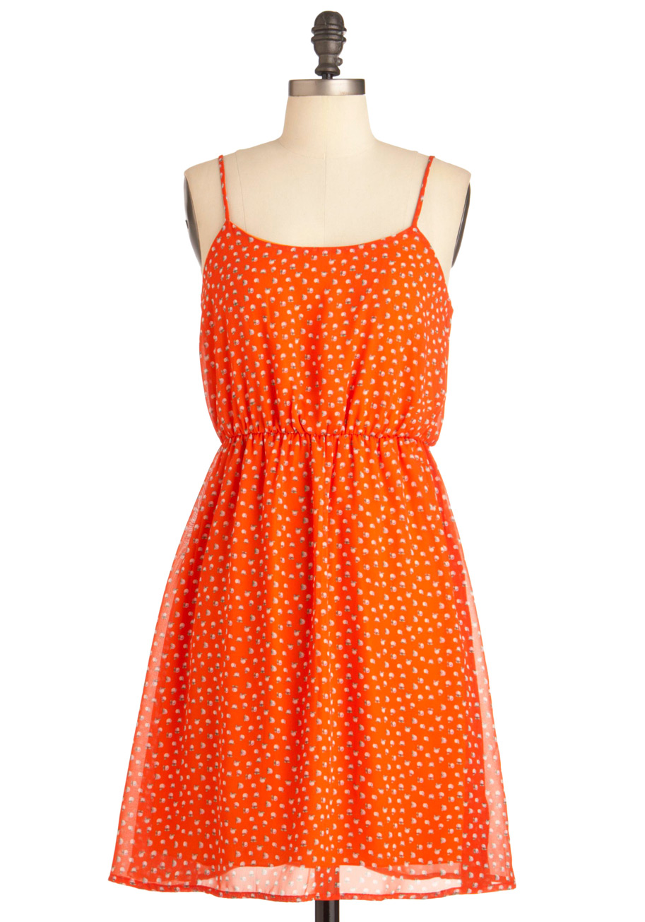 Smoothie Sailing Dress in Straps
