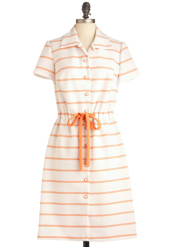 Vintage Peach and Every Dress
