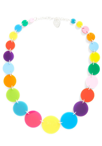 Rainbow Collection Necklace - Multi, Statement
