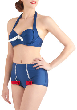 Beach Fireworks Swimsuit Bottom in Pinwheel