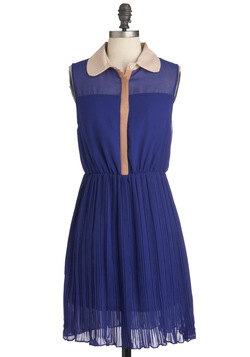 Indigo for It Dress