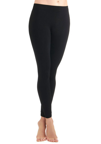 Perfect Pairing Leggings in Black - Black, Solid, Casual, Seamless