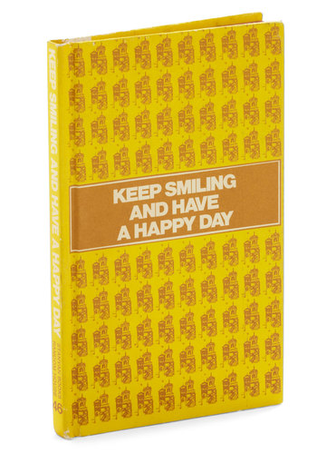 Vintage Keep Smiling and Have a Happy Day