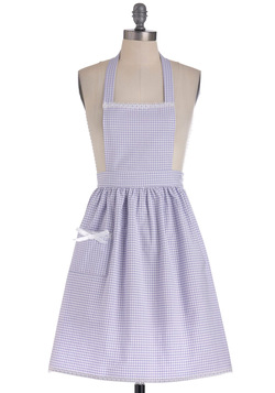 Gingham What They Want Apron