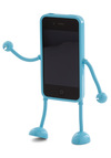 Appitoz iPhone Pal - Blue, Solid, Quirky