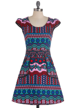 Westward Journey Dress in Kaleidoscope