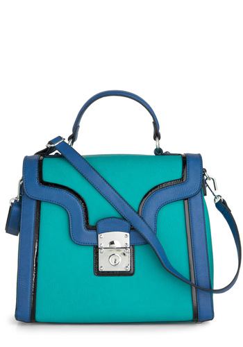 Smile Like You Marine It Bag - Green, Blue, Work, Statement