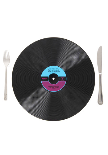 B-Sides That Placemats by Gama-Go - Black