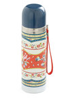 Bloom of the Loom Travel Mug by Disaster Designs - Multi, Orange, Blue, White, Floral, Travel, Holiday Sale, International Designer, Eco-Friendly, Good