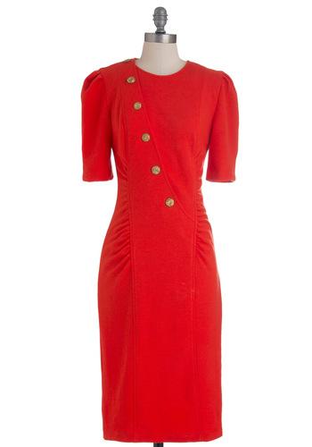 Vintage Coastal Conference Dress