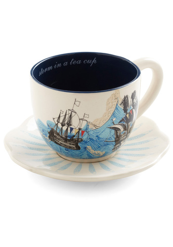 Swell Mornings Mug by Disaster Designs - Blue, Nautical, Multi, Holiday Sale