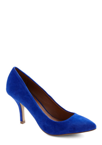That's the Strut Heel - Blue, Solid, Mid, Work