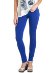 So Much Fun Pants in Blue - Blue, Solid, Pockets, Casual, Skinny