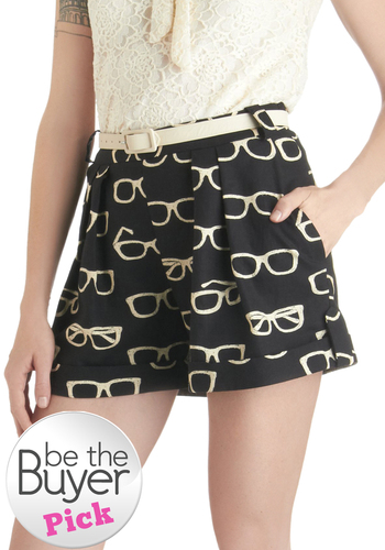 Frames and Fortune Shorts