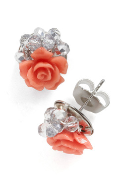 Streamside Rosebush Earrings