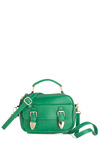 Grasshopper, Skip, and Jump Bag - Green, Solid, Buckles, Pockets, Casual