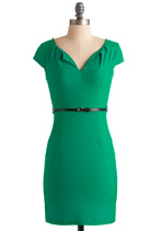 And We're Live Dress in Green from ModCloth