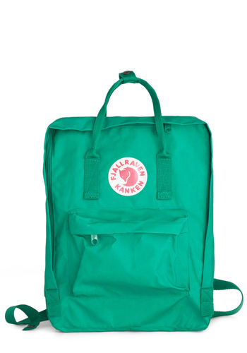 Wherever You Wander Backpack in Grass by Fjällräven - Green, Solid, Pockets, Casual, Urban, Travel