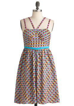 Lattice Sing-Along Dress