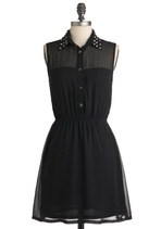 As Noir as Im Concerned Dress from ModCloth