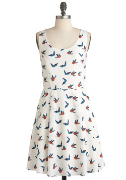 Ivory Skies Dress