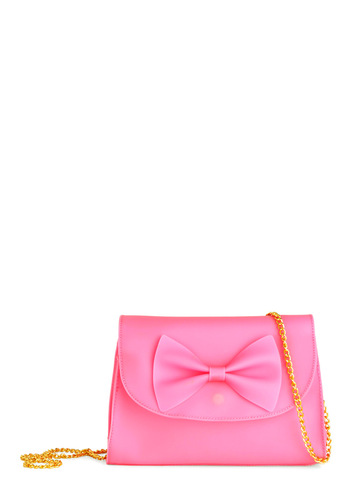 Sweet as Bubblegum Bag - Pink, Bows, Chain, Party, Girls Night Out, Cocktail, Daytime Party