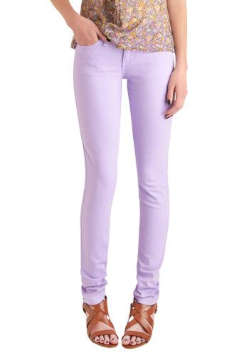 Spring in Every Season Jeans in Lavender