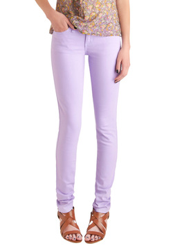 Spring in Every Season Jeans in Lavender