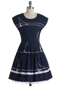 Sailing School Soiree Dress