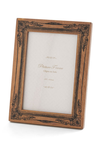 Fond and Dandy Picture Frame in Black - Brown, French / Victorian, Steampunk, Black