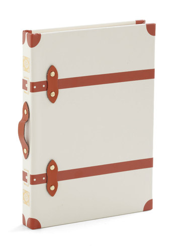 Word Traveler Journal - White, Travel