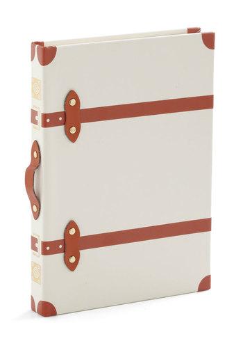 Word Traveler Journal - White, Travel