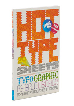 Hot Type Fabric Decals