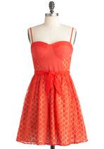 Orange Dresses - Tender Loving Carrot Dress