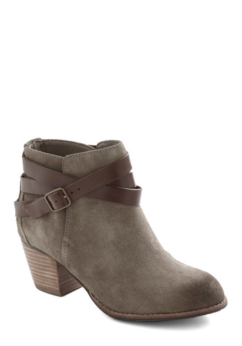 Stirrup Some Fun Bootie by Dolce Vita - Solid, Casual, Winter, Rustic, Mid
