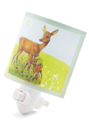 Pasture Bedtime Nightlight by Whimsy Designs - Multi, Vintage Inspired, 50s, Fairytale, Quirky, Mid-Century