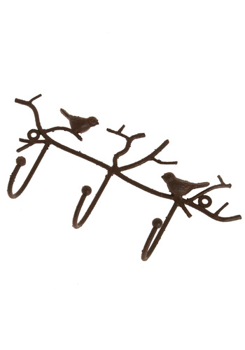 In the Tree Tops Wall Hooks - Dorm Decor, Bronze, Holiday Sale