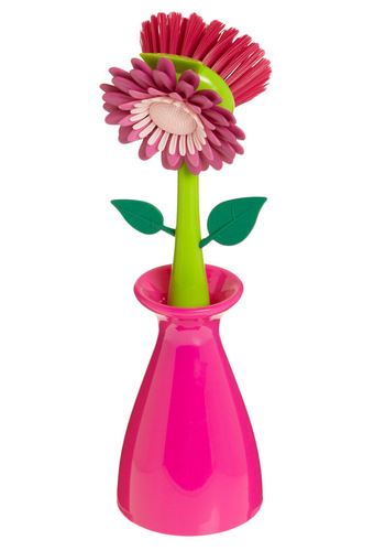 Bloom for Improvement Kitchen Brush - Pink, Top Rated